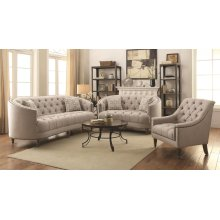 Avonlea Beige Three-piece Living Room Set