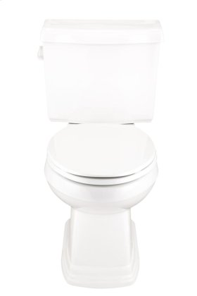 """Biscuit Allerton 1.28 Gpf 12"""" Rough-in Two-piece Elongated Toilet"""
