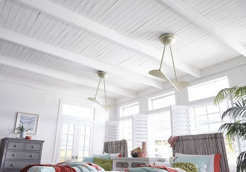 Kyte Collection 50 Inch Kyte Ceiling Fan SNB