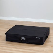 Canvas Underbed Storage Box - Black