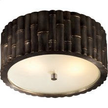 Visual Comfort AH4004GM-FG Alexa Hampton Frank 2 Light 11 inch Gun Metal Flush Mount Ceiling Light