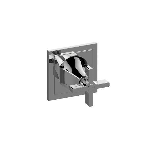 Finezza DUE Three-Way Diverter Valve Trim Plate and Handle