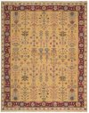 Nourmak Sk92 Yellow 605 Rectangle Rug 3'10'' X 5'10''