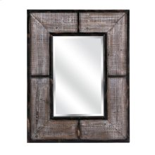 Rajya Wood and Metal Framed Mirror