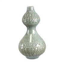 Ceramic Vase, Light Green