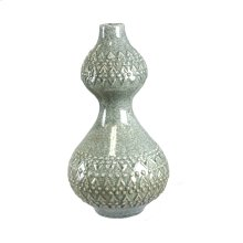 Ceramic Vase, Light Green