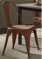 Bow Back Side Chair - Orange Product Image