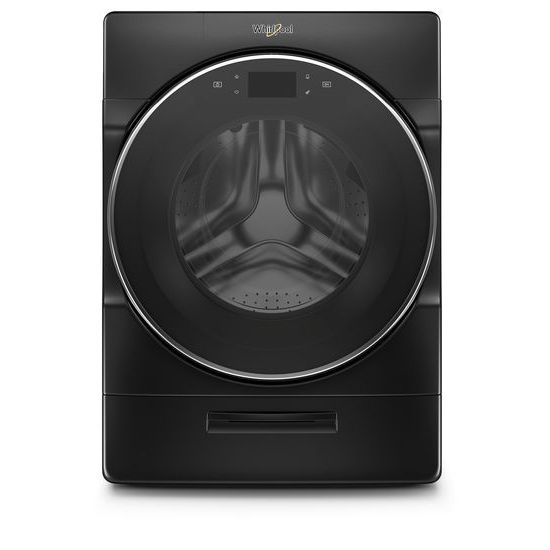 Whirlpool(R) 5.0 cu. ft. Smart Front Load Washer with Load & Go(TM) XL Plus Dispenser - Black Shadow