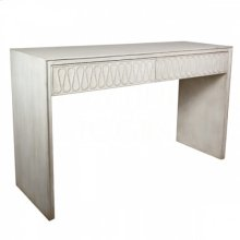 Serpentine Console Table