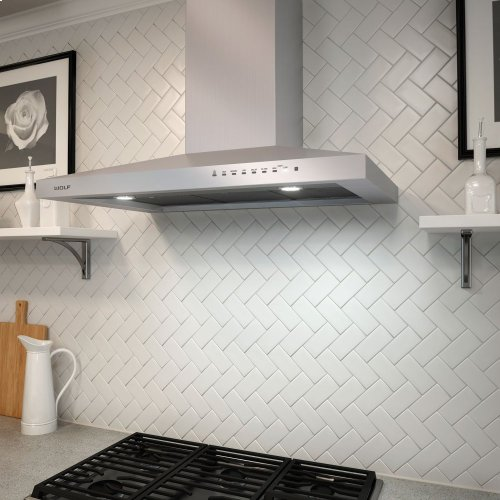 "30"" Cooktop Wall Hood - Stainless"