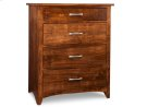 Glengarry 4 Drawer Hiboy Chest Product Image