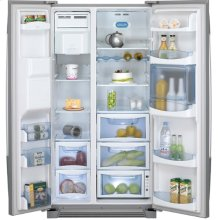 Crosley Side By Side Refrigerators (Counter Depth Design)