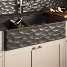 Workstation Wave Front Farmhouse Sink Product Image