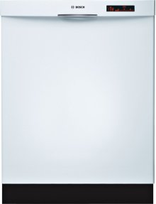 24 '' Recessed Handle Dishwasher 800 Series- White SHE68R52UC