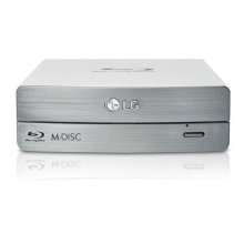 External Blu-ray/DVD Writer 3D Blu-ray Disc Playback & M-DISC Support