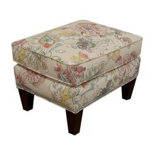 Reynolds Ottoman with Nails 477N