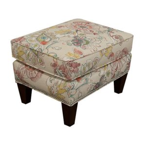 England Furniture Reynolds Ottoman With Nails 477n