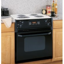"""GE Spacemaker® 27"""" Drop-In Electric Range with Self-Cleaning Oven"""
