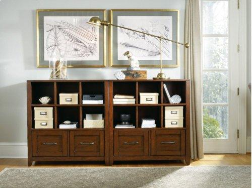 Wendover Utility Bookcase Pedestal