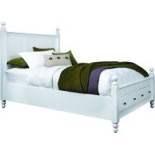 Queen Cottage Storage Bed