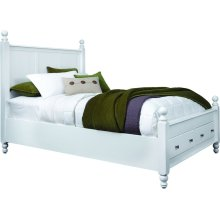 Queen Cottage Storage Bed