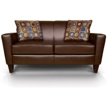 Collegedale Leather Loveseat 6206LS