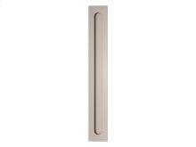 Slimline Flush Pull Solid In Satin Nickel - New In