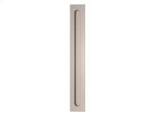 Slimline Flush Pull Solid In Satin Nickel - New In