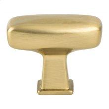 Subtle Surge Modern Brushed Gold Knob