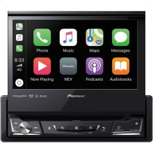 """7"""" Single-DIN In-Dash NEX DVD Receiver with Motorized Display, Bluetooth®, Apple CarPlay , Android Auto & SiriusXM® Ready"""