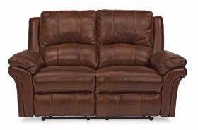 Dandridge Leather Power Reclining Loveseat