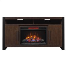 Costa Mesa TV Stand with Electric Fireplace