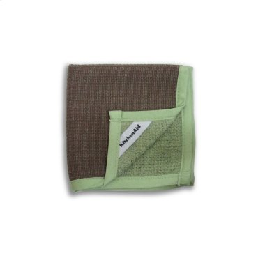 KitchenAid® Dish Cloth, Dual Purpose - Chocolate