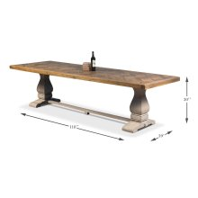 The Frisco Dining Table