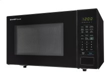 1.4 cu. ft. 1000W Sharp Black Countertop Microwave
