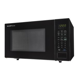 Sharp Appliances1.4 cu. ft. 1000W Sharp Black Countertop Microwave