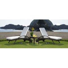 Atlantis Patio 3 PC Chaise Lounge set