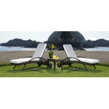 Atlantis Patio 3 PC Chaise Lounge set