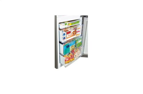 10.1 cu. ft. Capacity 2-Door Bottom Mount Refrigerator