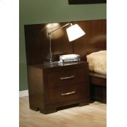 Jessica Cappuccino Two-drawer Nightstand Back Panel (pair) Product Image
