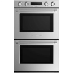 "Fisher & PaykelDouble Built-in Oven 30"" 8.2 cu ft, 10 Functions"