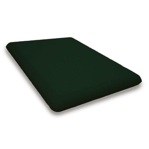 "Forest Green Seat Cushion - 18""D x 22""W x 2.5""H"