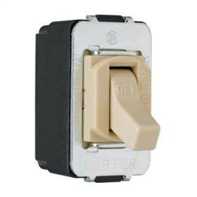 Despard Toggle Switch Screw Terminal, Ivory
