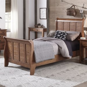 LIBERTY FURNITURE INDUSTRIESTwin Sleigh HB & FB