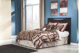 Zanbury - Merlot 2 Piece Bed Set (King)