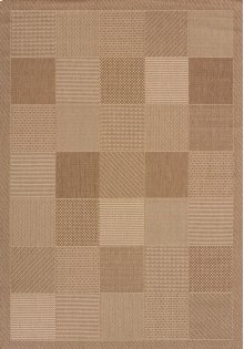 Solarium Patio Block Brown Rugs