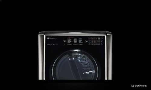 Clearance Model - One of a Kind - LG SIGNATURE 9.0 Mega Capacity TurboSteam Gas Dryer