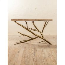 Sycamore Hand-Forged Iron Console Table