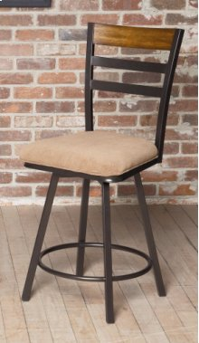 "D234-22  24"" Swivel Counter Stool"