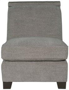 Franco Armless Chair in Mocha (751)